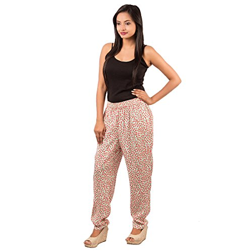 Goodwill Impex Women's Casual Wear Floral Printed Viscose trouser  available at amazon for Rs.299
