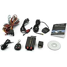 TOOGOO(R) TK103B KFZ Auto GSM/GPRS/GPS Tracker Peilsender Ortungsgeraet + Fernbedienung