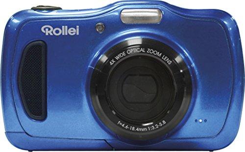 Galleria fotografica Rollei Sportsline 100 Compact camera 20MP 5152 x 3864pixels Blue - Digital Cameras (20 MP, 5152 x 3864 pixels, 4x, HD, 162 g, Blue)