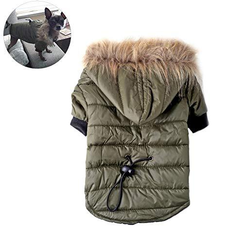 Hundekleidung Hundemantel Hundejacke Hundepullover Warm Winter für Kleine und große Hund(XS - XL)