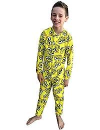 Peto infantil diseño de Bob Esponja palo de golf para niños ropa de descanso para niñas pijama Pelele para bebé All In One 5-6 años
