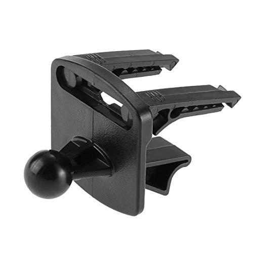 Black Plactics Auto Fahrzeug GPS Air Vent Ständer Halter Bracket Set für Garmin Nuvi
