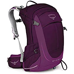 Osprey Sirrus 24 Women's Ventilated Hiking Pack - Ruska Purple (O/S)