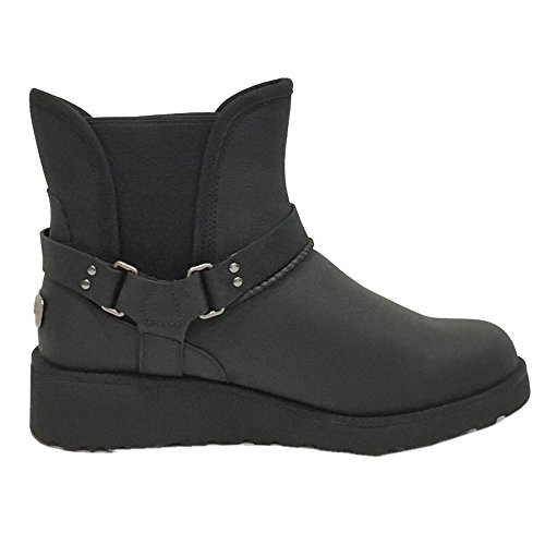 ugg-australia-womens-glen-black-leather-boots-37-eu