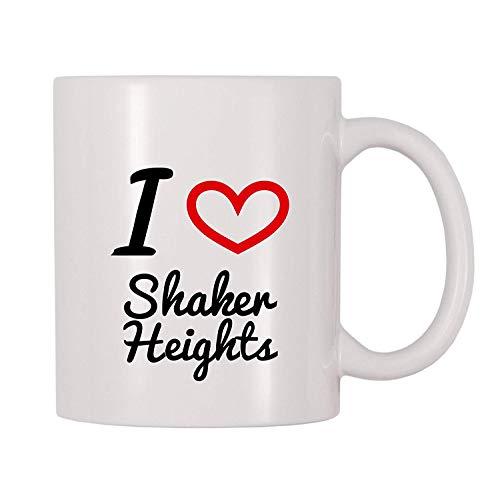 I Love Shaker Heights Coffee Mug (11 oz) -