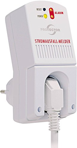 Protector SAM 1000 Stromausfall-Melder akkubetrieben Lautstärke 85 dBA