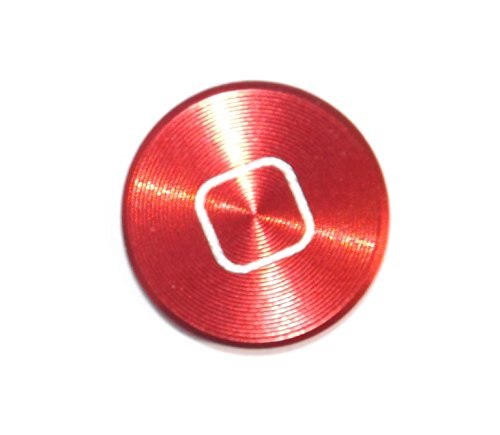 iPhone-Zubehör, Home-Tasten-Aufkleber aus farbigem Metall, für iPhone 6,5s, 5c, 5,4,3, iPhone, iPad, iPod (Home Ipod Sticker 4 Für)