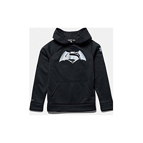 Under Armour Superman V Batman Hoody - black/ -/ silver, Größe:YMD