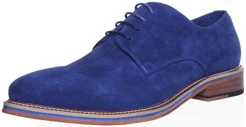 Justin Reece , Chaussures de ville à lacets pour homme Bleu - Navy NKN