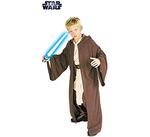 Imagen de disfraz o túnica jedi deluxe de star wars para niño