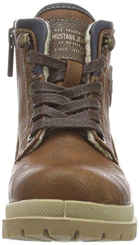 Mustang Unisex-Kinder 5037-604 Kurzschaft Stiefel Braun (301 kastanie)
