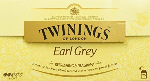 Twinings Earl Grey 50g, 25 Beutel, 1er Pack (1 x 50 g)