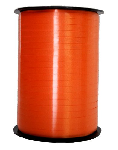 Preisvergleich Produktbild Glanzbastband 500m orange 5mm