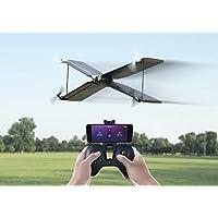 """Parrot Swing - Dron """"dos en uno"""" cuadricóptero y avión (cámara 30 FPS, 30 Km/h, 8 minutos de vuelo, 100 metros de alcance, programable) + Mando Flypad"""