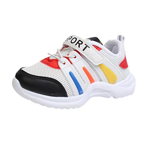 Zapatos De Bebé,ZARLLE Zapatos para Bebé para NiñA Y NiñOs Rejilla Zapatos De NiñIto Antideslizante Breathable Alfabeto Casual Calzado De Deportes Mocasines Aire Libre Y Deporte