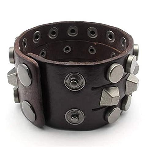 AnaZoz Fashion Jewelry Simple Personality Jewelry Stainless Steel Men's Bracelet