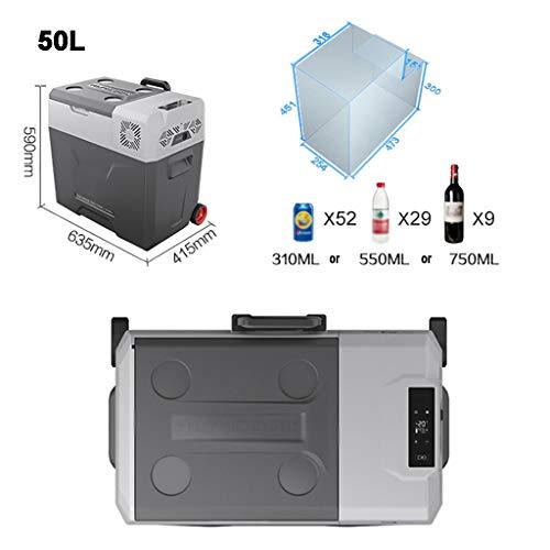 Tragbarer Kompressor Auto Kühlschrank Kühlschrank mit Gefrierfach, Auto und Heimgebrauch 12V / 24V DC, 220-240 V AC.