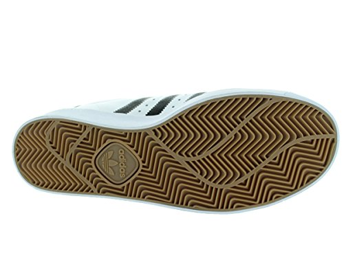 Adidas Superstar Vulc Adv Ftwhite / nero / ftwht Skate Shoe 8.5 Us Ftwhite/Black/Ftwht