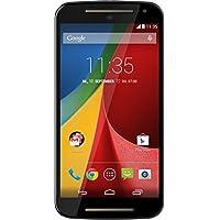 Motorola Moto G (2 Generazione) Smartphone, Display 5 pollici, Memoria 8 GB, Dual SIM, Fotocamera 8 MP, Quad-Core 1.2GHz, 1GB RAM, Android 4.4, Nero