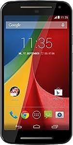 Motorola Moto G (2ème Génération) Smartphone débloqué 3G+ (Ecran: 5 pouces - 8 Go - Double SIM - Android 4.4 KitKat) Noir (import Allemagne)