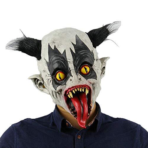 Kopfbedeckung Clown Kostüm - LXIANGP Karneval Halloween Bat Clown Boutique