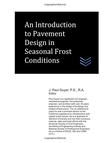An Introduction to Pavement Design in Seasonal Frost Conditions
