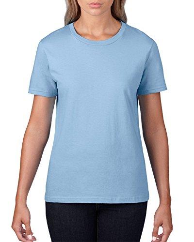 GILDAN - T-shirt - Femme Bleu - Bleu clair