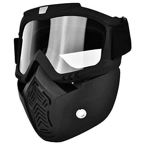 Gafas/Máscaras Mascarilla facial antibalas