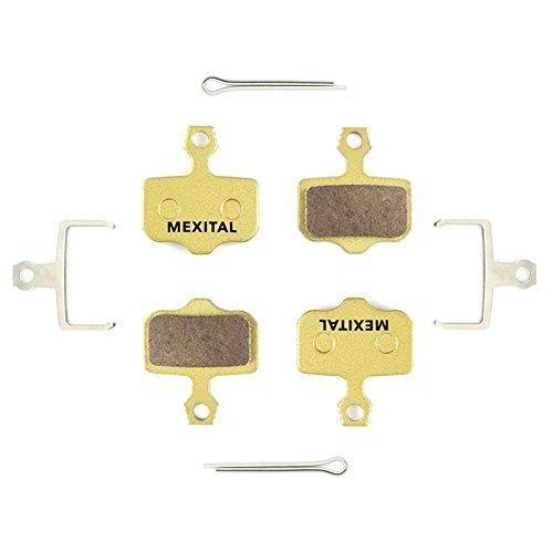 MEXITAL 2 coppie Pastiglie freno a disco Sinterizzato per SRAM avid Elixir E1 E3 E5 E7 E9 DB1 DB3 DB5 XO XX