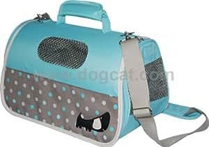Sac de transport pour chien - bleu pour 49x22x29cm - Vivog