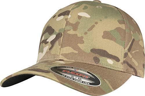 Camouflage Military Style Cap (Flexfit Multicam Cap, L/XL)
