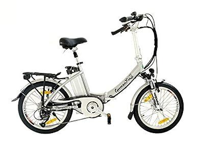 GermanXia Elektro-Faltrad Mobilemaster Touring CH 7G Shimano 20 Zoll, eTurbo 250 Watt HR-Antrieb, bis zu 138 km Reichweite nach StVZO