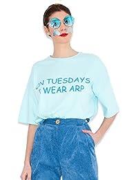 Agatha Ruiz de la Prada Camiseta Azul Martes