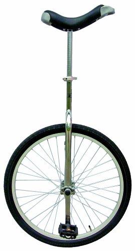 Fun 24 - Monociclo, color plateado
