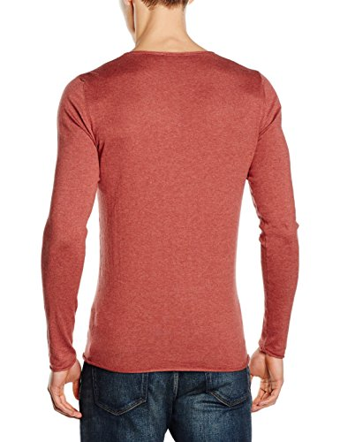 SELECTED HOMME Herren Pullover Shddome Crew Neck Noos Rot (apple Butter)