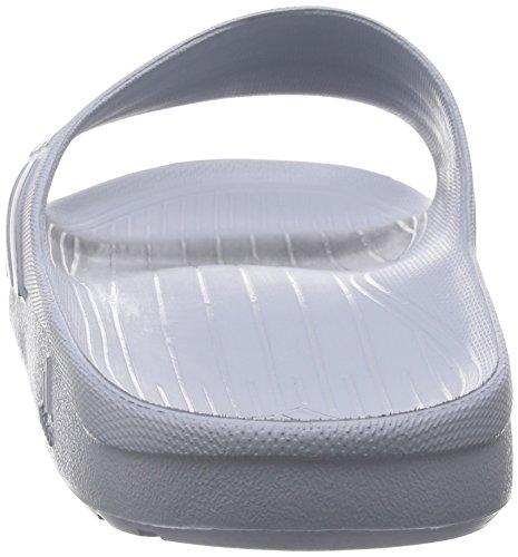 adidas  Duramo Slide - Chaussures de Plage & Piscine mixte adulte Gris (Clear Onix/Grey/Clear Onix)