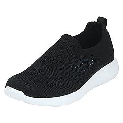 Red Tape Womens Black Nordic Walking Shoes-3 UK/India (36 EU)(RLO0271)