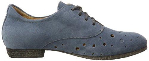 Think! Ebbs, Bottes à lacets  Femme Blau (Denim/KOMBI 79)
