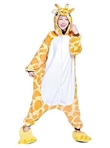 Adulte Unisexe Anime Animal Costume Cosplay Combinaison Pyjama Outfit Nuit Vêtements Obesity Fleece Halloween Costume