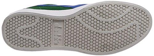 Diadora B.Original VLZ, Chaussures de Gymnastique Homme Gris (Verde Crema Pisello Reflex)