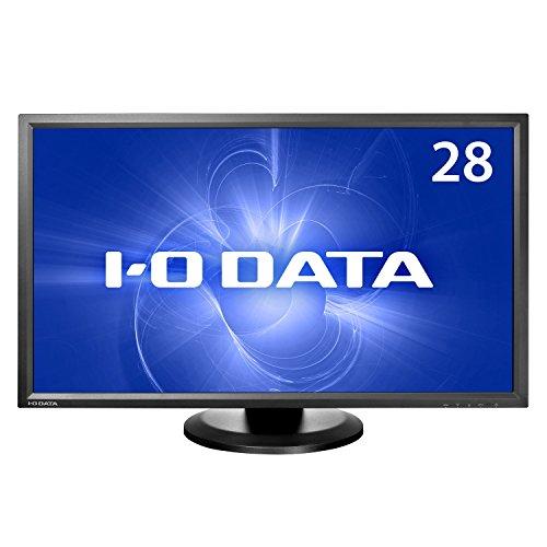 I-O DATA 28型ワイド液晶ディスプレイ (HDMI端子4K/60Hz・HDCP2.2、DisplayPort搭載、5年フル保証) LCD-M4K282XB