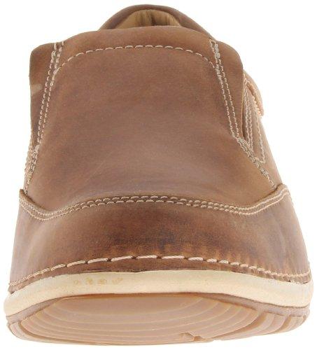 Clarks Shiply Schritt Slip-on Loafer Cognac