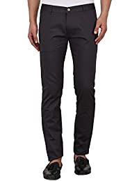 Jugend Grey Slim Fit Trousers For Men