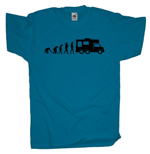 Ma2ca - Evolution - Camper T-Shirt Azure