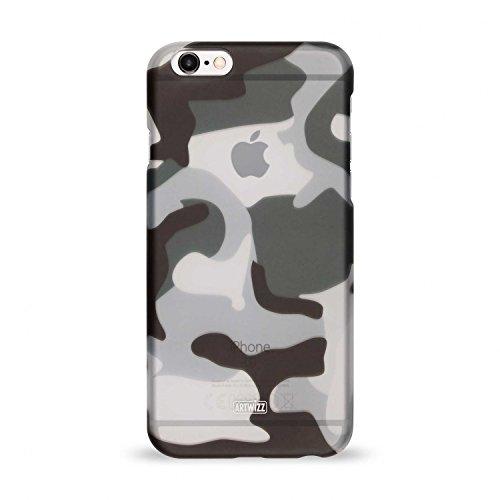 Artwizz Camouflage Clip Handyhülle designed für [iPhone 6S PLUS, iPhone 6 PLUS] - Schutzhülle im Tarnmuster-Erscheinungsbild mit Soft-Touch-Beschichtung und Grip