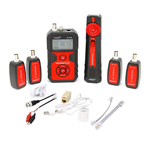 NF-858 Cable Line Locator Wire Tracker Cable Tester Finder for Network Cable