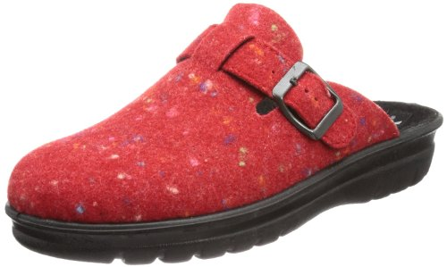 Romika 29065 54 455 Village 365, Pantofole donna, Rosso (Rot (rot 400)), 40