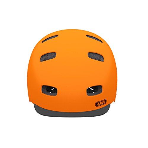 Abus Erwachsene Fahrradhelm Scraper v.2, signale orange, 58-63 cm, 12738-0 - 2