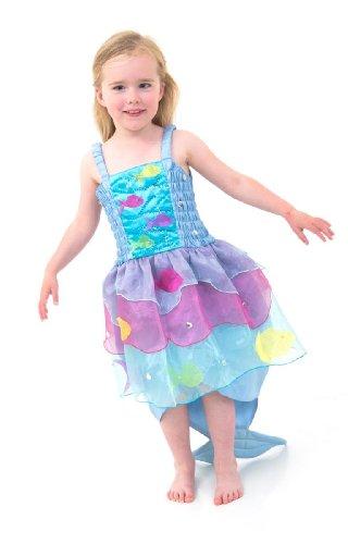 Lucy Locket Tropische Meerjungfrau Kostüm Kinder - Meerjungfrau Kleid Kinder (3-8 jarhre) (5-6 Jahre) (Kostüm Meerjungfrau Kind Kleine)