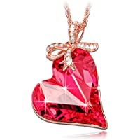 LADY COLOUR - Regalo dell'amore - Collana donna con cristalli da Swarovski - la collezione CUORE DI CRISTALLO